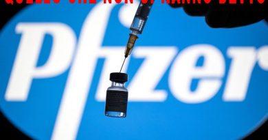 Vaccino Pfizer, la brutta sorpresa dietro l'angolo che in Italia si sono ben guardati dal comunicarci. Quando le cose le scopri per caso.
